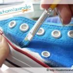 Como customizar tênis All Star com efeito ombré (degradê)