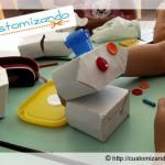 Nova vida para: caixa de leite (especial Dia das Crianças)