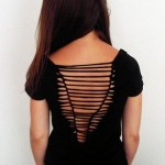 Ideias para customizar: decotes nas costas