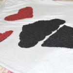 DIY Camiseta I Love Cupcake