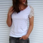 3 customizações para uma camiseta branca