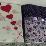 Customizando cadernos escolares