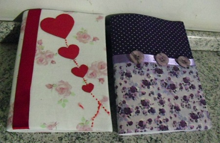 customização de cadernos escolares