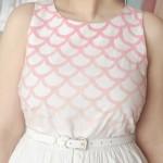 2 ideias para customização de vestido branco
