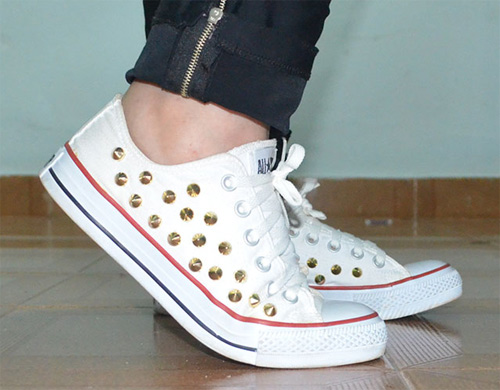 Tênis All Star com Spikes