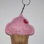 DIY: Chaveiro Cupcake