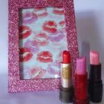 DIY: Porta-retrato com glitter