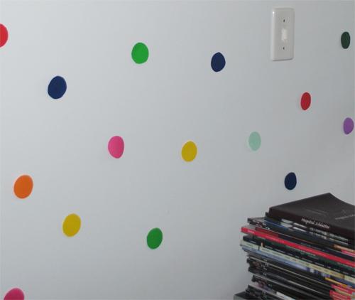 parede colorida