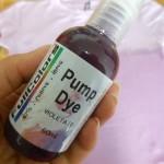 Customização com Pump Dye