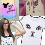 10 ideias para customizar sua camiseta branca