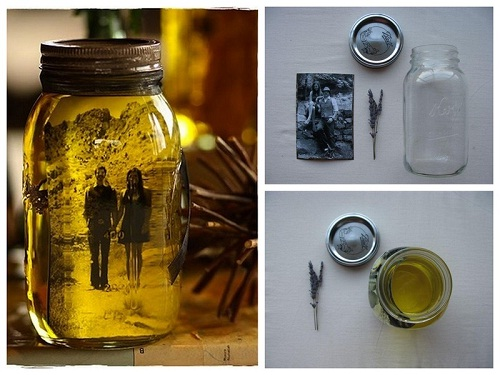 nova vida para vidros de conserva