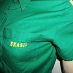 Camisa com tema Brasil