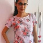 Costureira aprendiz: fazendo blusas