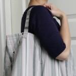 Bolsa feita de saia