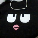 Blusa customizada tipo Angry Birds