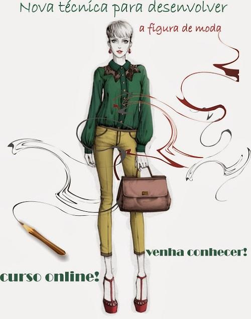 curso online de desenho de moda