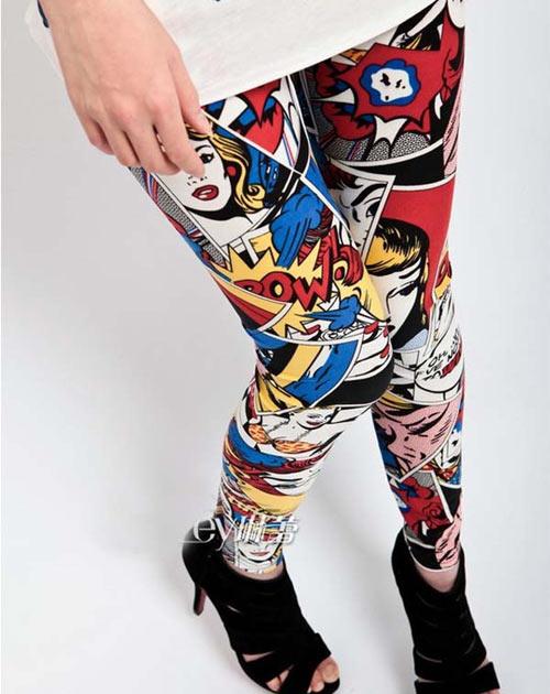 inspiração leggings estampadas
