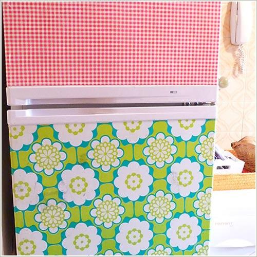 customização de geladeira