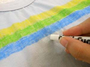 Como customizar camiseta para a Copa do Mundo com giz