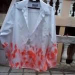 Customizando camisa masculina, com efeito degradê