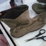 Como mudar bota de cano alto para cano curto