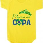 Ideias de body de bebê para a Copa do Mundo Brasil
