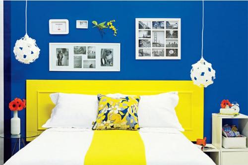 DIY aproveitar porta na decoração - cabeceira de cama