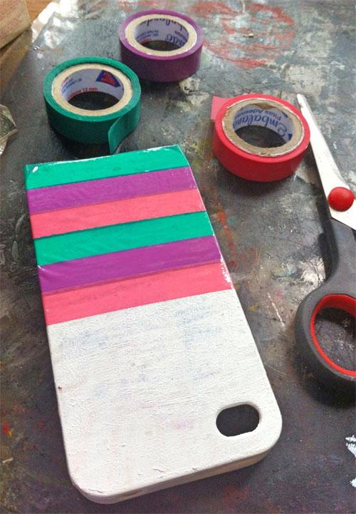 DIY customizando capinha celular