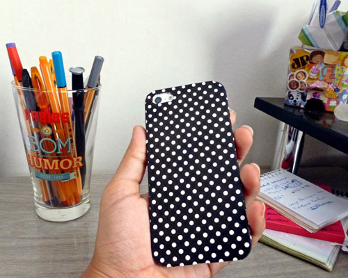 DIY - Customizando capinha de celular com Contact