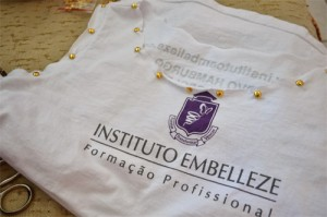 DIY - ideias para customizar uniforme/farda escolar