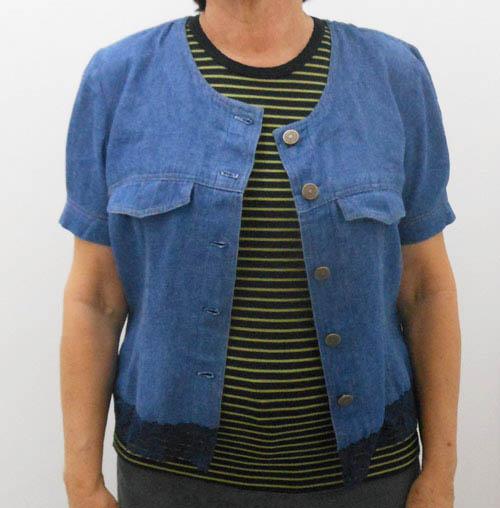 DIY - como transformar vestido em casaquinho