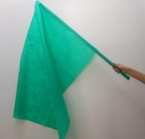 Como fazer bandeira de cabo de vassoura
