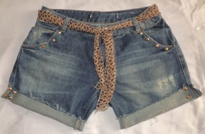 DIY - como transformar e customizar short