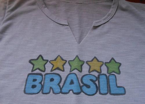2333bfcbf Camiseta customizada Copa do Mundo Brasil