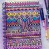 DIY customizando caderno escolar