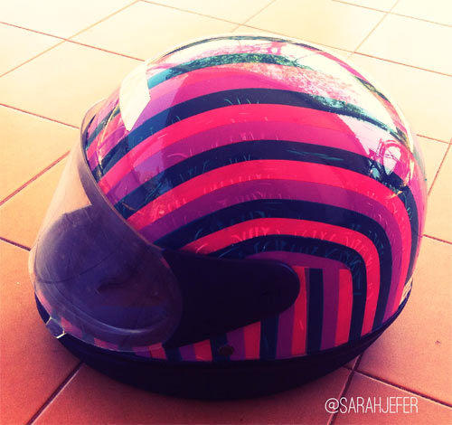 DIY customizando capacete