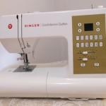 Minha máquina de costura Singer