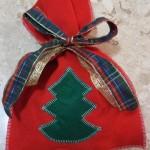 Como fazer embrulho de presente de natal