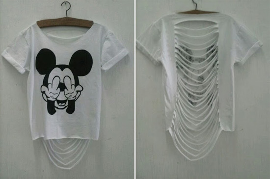 como customizar camiseta