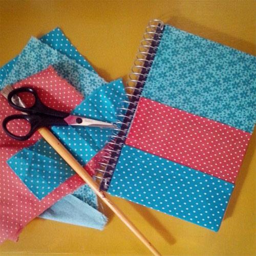 Customização de caderno ou agenda