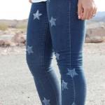 Como fazer calça jeans com estrelas