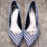 Como forrar sapato com tecido
