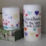 Como customizar velas