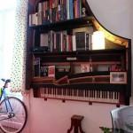 Nova vida para: piano de cauda