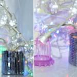 DIY: Árvore com flores de luzes (Inspirada na Imaginarium)