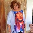 A camiseta da Alcione com estampa de Axl Rose e outras camisetas de famosos