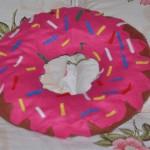 DIY Como fazer almofada donut
