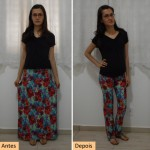 Como transformar saia longa em calça