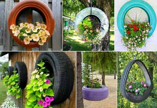mini jardim reciclado:Penteadeira provençal que tem nas gavetas flores ao invés de