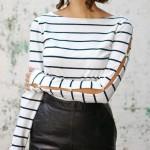 9 ideias para customizar camiseta manga longa